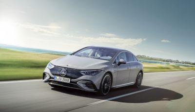 Mercedes EQE: ha tutto della berlina ed è anche elettrica