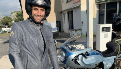 Zarco tra vacanze e lavoro: 950 km su una Ducati del 1981
