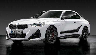 BMW presenta il catalogo accessori M Performance per la nuova Serie 2 Coupé