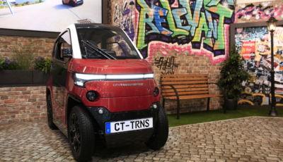 City Transformer presenta la citycar elettrica… a larghezza variabile!