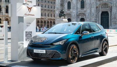 Cupra Born arriva in Italia: la versione da 204 CV costa 38.900 Euro
