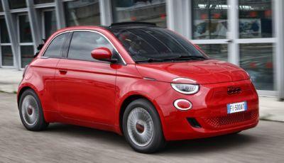 """Fiat 500 RED: il """"Cinquino"""" si tinge di rosso contro virus e pandemie"""