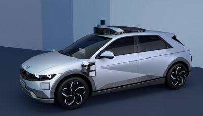 Da crossover a robotaxi: Hyundai Ioniq 5 sposa la guida autonoma