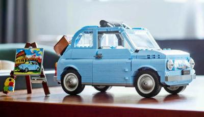 """Fiat 500: il modello storico della Lego è disponibile anche in """"Baby Blue"""""""