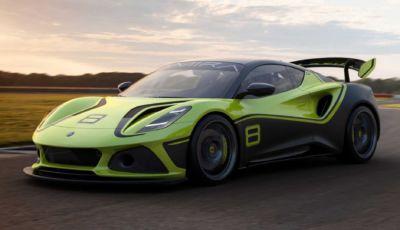 Lotus Emira GT4: l'erede della Evora per la pista ha 406 cavalli