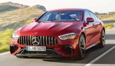 Mercedes-AMG passa all'ibrido plug-in con la GT 63 S E Performance