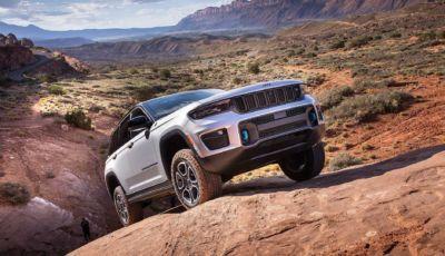 Jeep Grand Cherokee 2022: presentata la 4xe ibrida plug-in da 375 CV