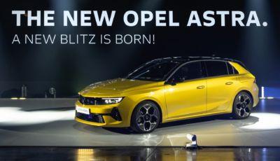 Nuova Opel Astra debutta a Monaco: nel 2023 arriva la versione elettrica