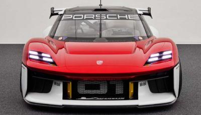 Porsche Mission R: la supercar da pista diventa elettrica!