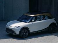smart Concept #1, il nuovo crossover compatto elettrico