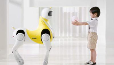 Dalle auto ai robot per bambini: Xpeng lancia un unicorno cavalcabile!