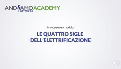 Andiamo Elettrico Academy