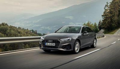 Audi A4: la generazione del 2023 sarà ancora a benzina e diesel