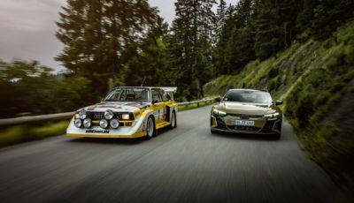 Audi Quattro: quarant'anni fa il debutto della trazione integrale