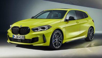 BMW M135i xDrive: upgrade alle sospensioni per la Serie 1 più sportiva