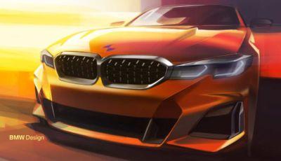 Nuova BMW Serie 3 debutta nel 2025, anche in versione elettrica