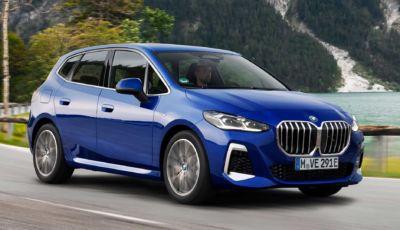BMW Serie 2 Active Tourer 2022: più tecnologica e moderna