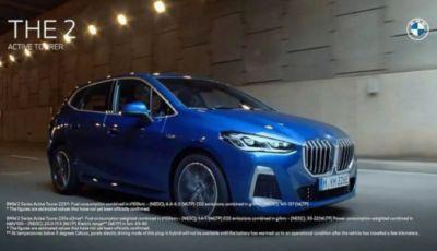 BMW Serie 2: la nuova Active Tourer anticipata da una pubblicità