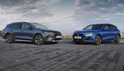 Ford Focus 2022: il restyling porta una nuova estetica e tanta tecnologia