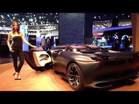 Peugeot Onyx al Salone di Francoforte 2013