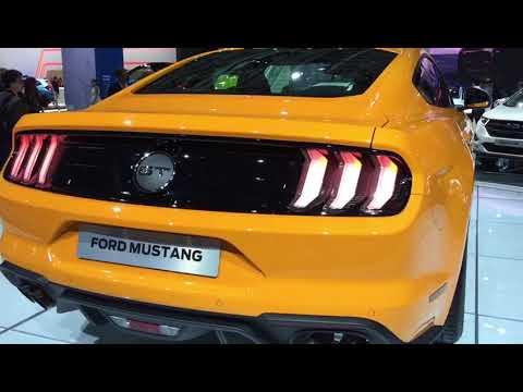Ford Mustang Restyling al Salone dell'Auto di Francoforte 2017