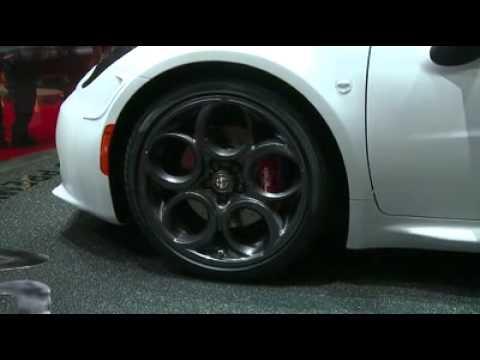 Alfa Romeo 4C Coupé – Salone di Ginevra 2013