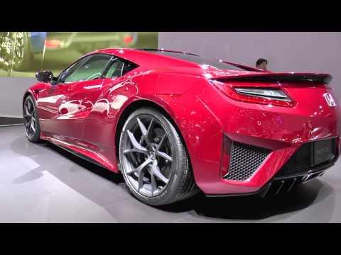 Honda NSX la supercar giapponese debutta a Ginevra